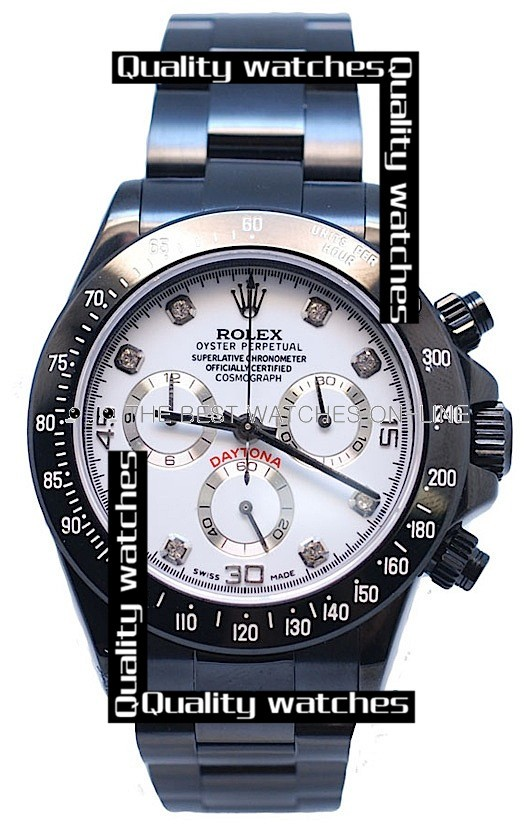 Swiss Rolex Cosmograph Daytona Project Limited Edition Designs Diamond Markers Automatic Replica Watch