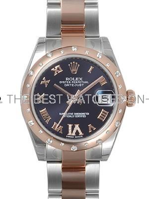Swiss Rolex Oyster Perpetual 178341-VI-63161 Chocolate dial Men Automatic Replica Watch