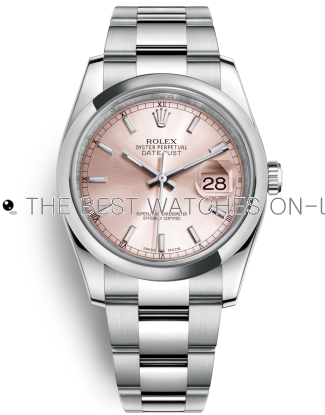 Rolex Datejust Swiss Automatic Watch 116200-0079 Pink Dial 36mm (High End)