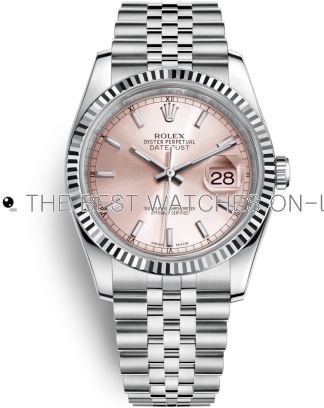 Rolex Datejust Swiss Automatic Watch 116234-0108 Pink Dial 36mm (High End)