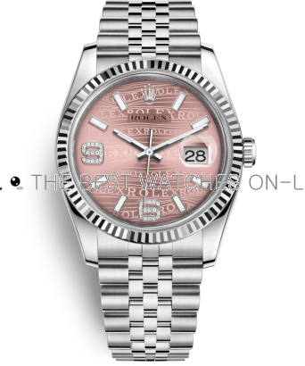 Rolex Datejust Swiss Automatic Watch 116234-0113 Pink Dial 36mm (High End)