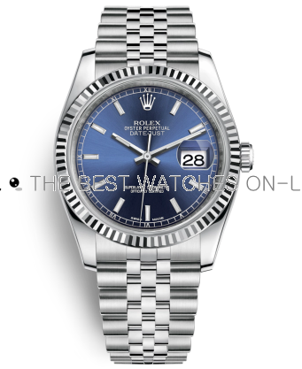 Rolex Datejust Swiss Automatic Watch 116234-0139 Blue Dial 36mm (High End)