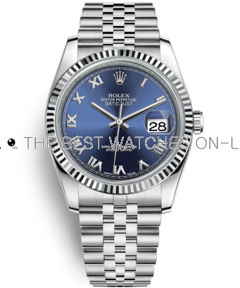 Swiss Rolex Datejust Mens 116234-0141 Royal-blue Men Automatic Replica Watch