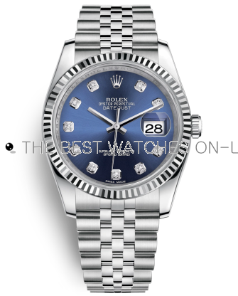 Rolex Datejust Swiss Automatic Watch 116234-0142 Blue Dial 36mm (High End)