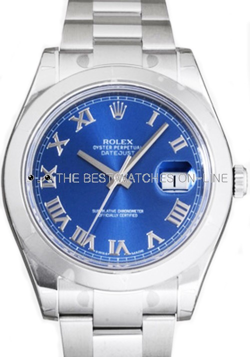 Rolex Datejust Mens 116300 Blue dial Men Automatic Replica Watch