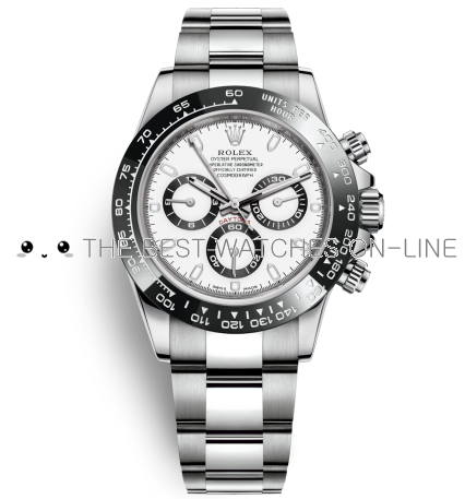 Replica Rolex Daytona Automatic Watch 116500ln-0001 White Dial 40mm