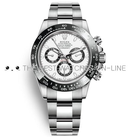 Replica Rolex Daytona Automatic Watch 116500ln-0001 White Dial 40mm