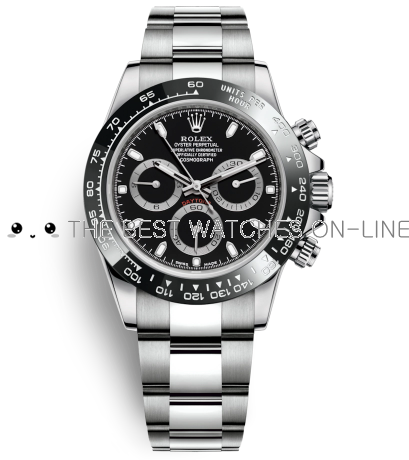 Rolex Daytona Automatic Replica Watch 116500ln-0002 Black Dial 40mm