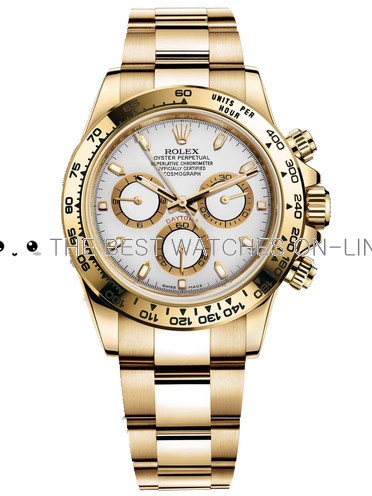 Replica Rolex Daytona Automatic Watch 116508-0001 White Dial 40mm