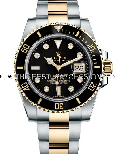 Replica Rolex Submariner Watches Swiss Automatic 116613LN-0003 Black Dial 40mm (High End)