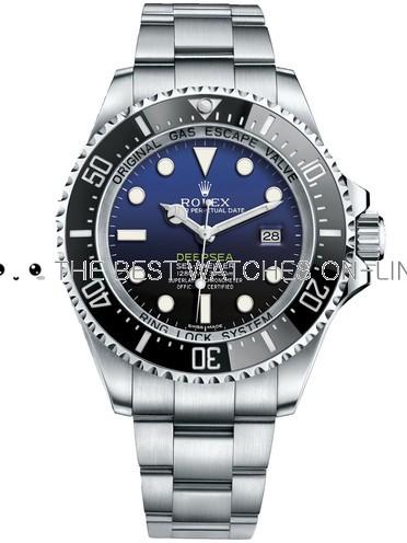 Swiss Rolex Sea Dweller DeepSea D-Blue Dial Replica Watch (High End)