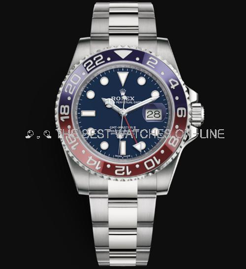 Rolex GMT-Master II Automatic Watch 116719BLRO-0002 40mm