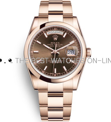 Rolex Day-Date Swiss Automatic Watch 118205F-0127 Chocolate Dial 36mm (High End)