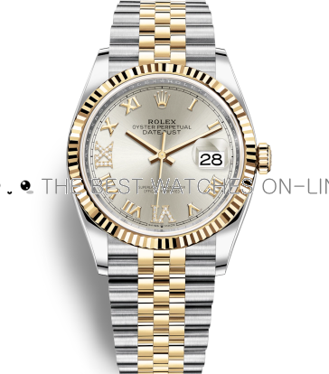 Swiss Rolex Datejust Mens 126233-0031 Silver dial Men Automatic Replica Watch