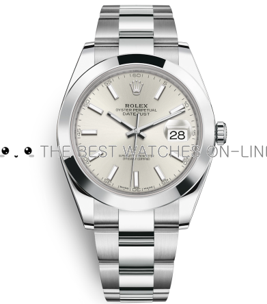 Rolex Datejust Mens 116300 Silver dial Bar-type time markers Automatic Replica Watch