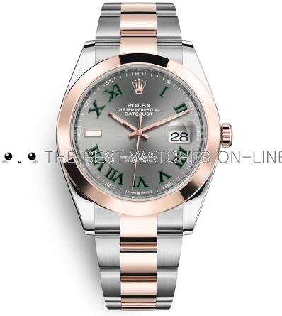 Rolex Datejust II Swiss Replica Watch 126301-0015 Gray Dial 41mm (High End)