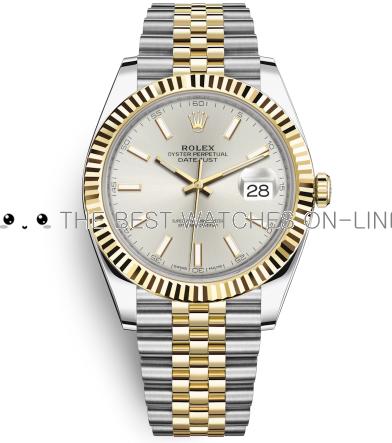 Rolex Datejust II Swiss Replica Watch 126333-0002 Silver Dial 41mm (High End)