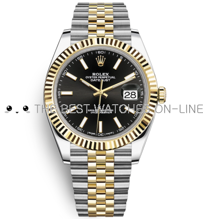 Replica Rolex DateJust II Swiss Automatic 126333-0014 Black Dial 41mm (High End)