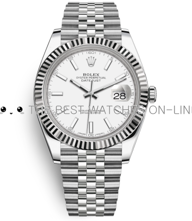 Replica Rolex DateJust II Watches Swiss Automatic 126334-0010 White Dial 41mm (High End)