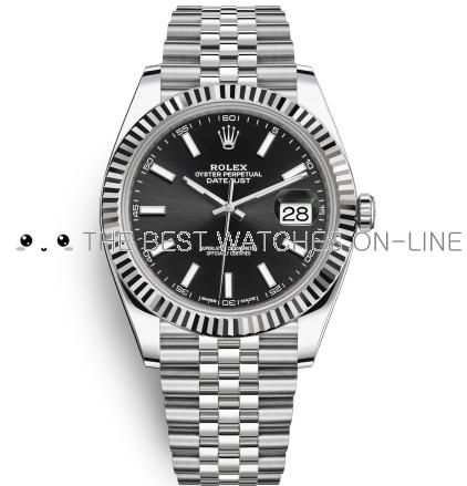 Replica Rolex Datejust II Automatic Watch 126334-0018 Black Dial 41mm