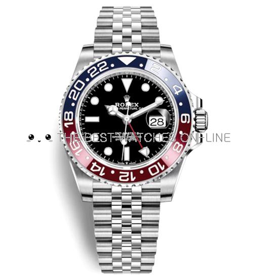 Rolex GMT-Master II Automatic Watch 126710BLRO-0001 40mm