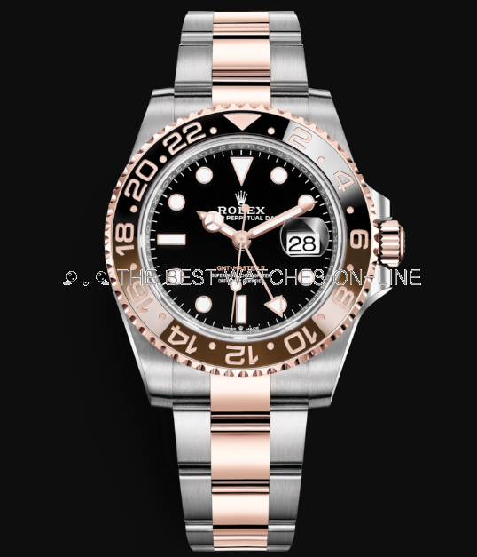 Rolex GMT-Master II Automatic Watch Rose Gold 126711CHNR-0002 40mm