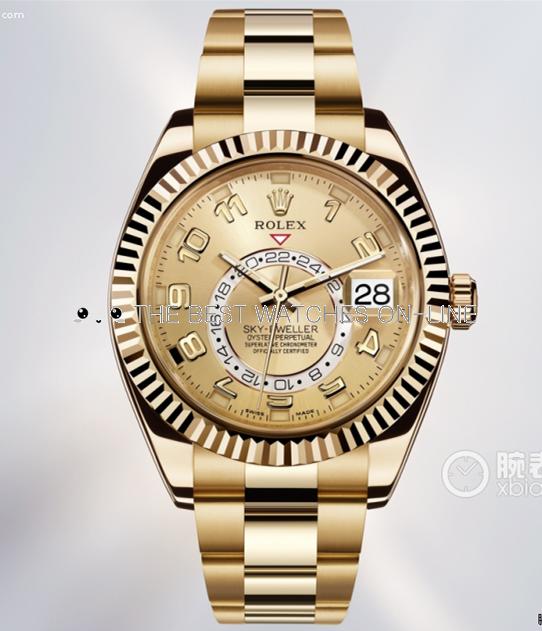 Rolex Sky-Dweller 326938 18K Gold Men Automatic Replica Watch