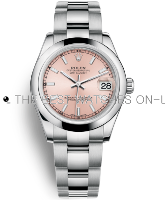 Replica Rolex Datejust Automatic Watch 178240-0028 Pink Dial 31mm
