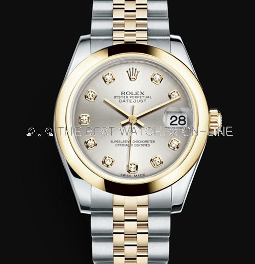 Rolex Datejust 31mm Automatic Watch 178243-0041