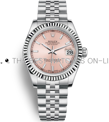 Rolex Datejust 31MM 178274-0012 Pink dial Ladies Automatic Replica Watch
