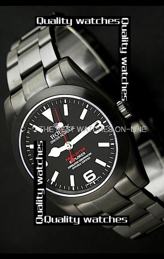 Rolex Pro-Hunter Explorer PVD case  Automatic Replica Watch