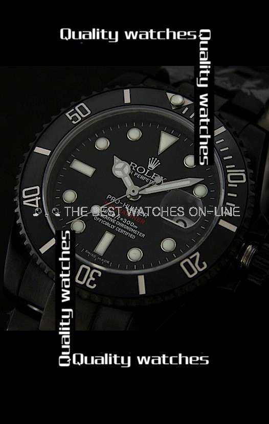 Rolex Submariner Pro Hunter Ceramic bezel PVD Automatic Replica Watch