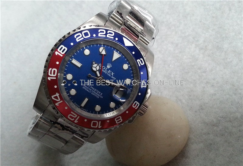 Rolex GMT-Master II Automatic Watch 116719BLRO-0002 40mm