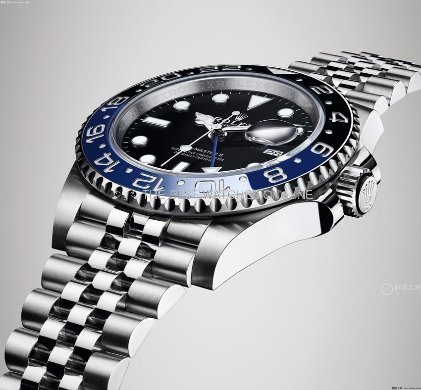 Rolex GMT-Master II Swiss Replica Watch 2019 Jubilee Black Dial (Super Model)