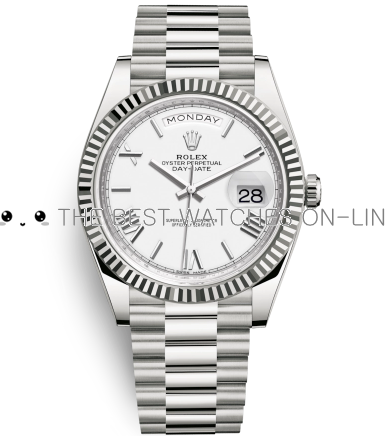 Rolex Day-Date II Swiss Replica Watch 228239-0046 White Dial 40mm (High End)