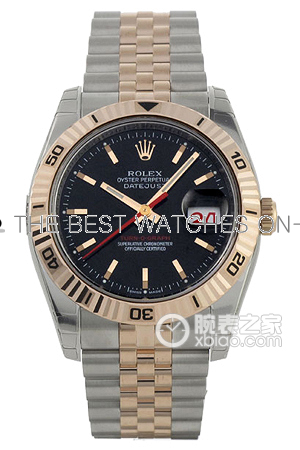 Swiss Rolex Datejust 116261 Black Dial Men Automatic Replica Watch