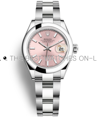 Rolex Datejust Ladies 179160-72130 Pink Dial Ladies Automatic Replica Watch