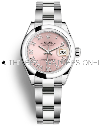 Replica Rolex Datejust Automatic Watch 179160-0034 Pink Dial 26mm
