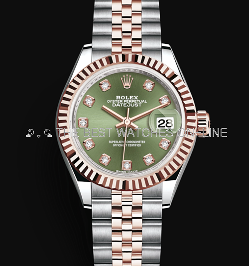 Rolex Datejust 28mm Automatic Watch 279171-0007
