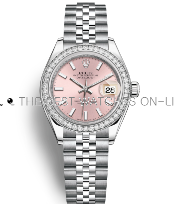 Replica Rolex Datejust Automatic Watch 279384rbr-0001 Pink Dial 28mm