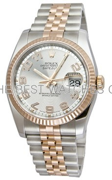 Swiss Rolex Datejust Mens 116233-63203 Silver dial Men Automatic Replica Watch