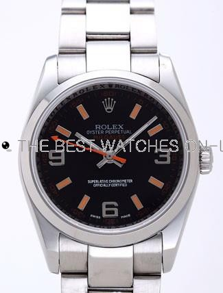 Rolex Milgauss Replica Watches Anniversary Edition Black Dial RX41174