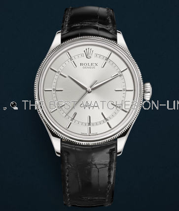 Rolex Cellini Swiss Replica Watch 50509-0008 Silver Dial 39mm (High End)