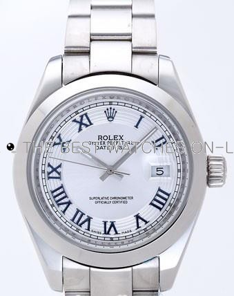 Rolex Datejust II Replica Watches White Dial RX4116