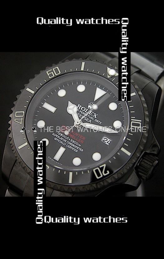 Rolex Deepsea Pro-Hunter Sea-Dweller Jacques Piccard Edition 43mm Automatic Replica Watch