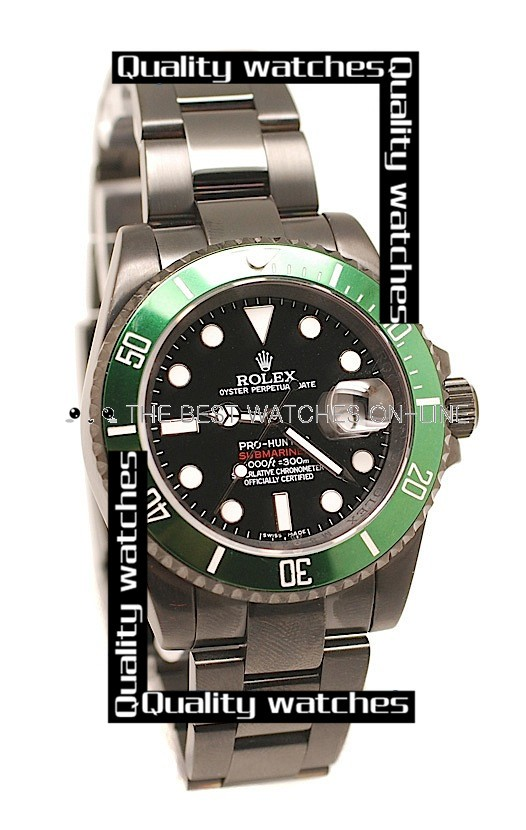 Swiss Rolex Pro-Hunter Submariner 50th Anniversary PVD coating  Automatic Replica Watch