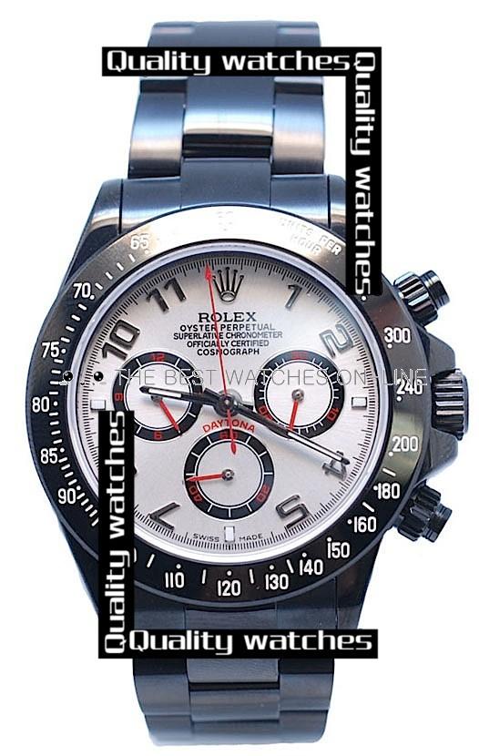 Swiss Rolex Cosmograph Daytona Project Limited Edition PVD Arabic Automatic Replica Watch