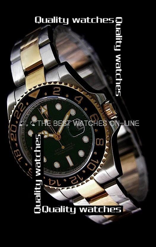 Rolex GMT-Master II Green dial Ceramic bezel Automatic Replica Watch