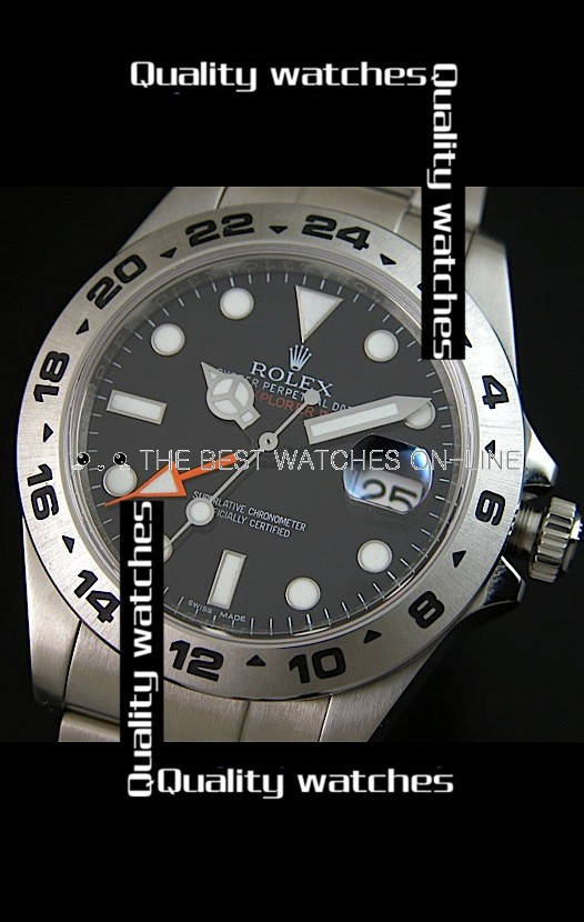 Rolex Explorer II 216570-77210 Black Dial Super Luminous Men Automatic Replica Watch