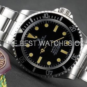Rolex Submariner SS Case Black Dial No Date SWRX925